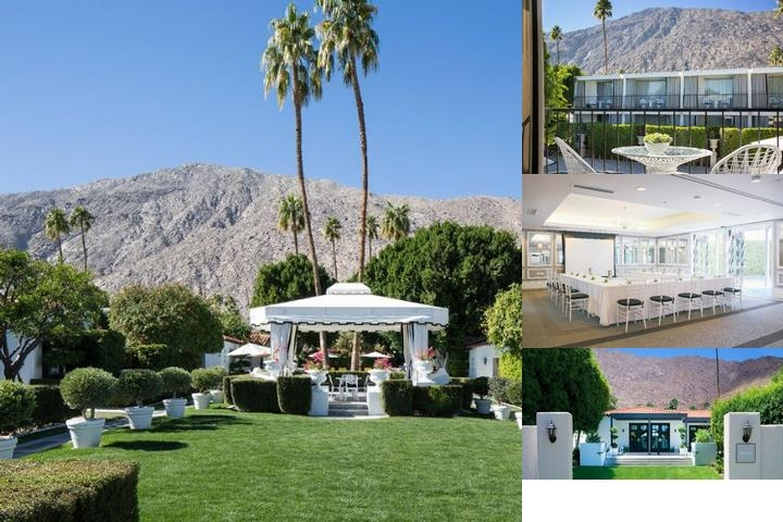 Viceroy Palm Springs photo collage