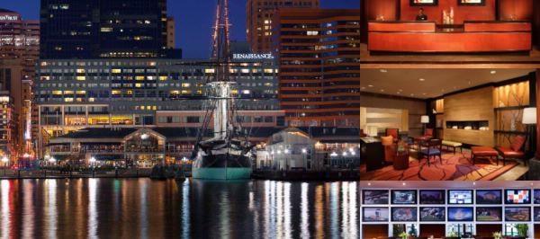 Renaissance Baltimore Harborplace Hotel photo collage