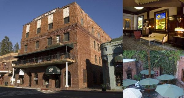 Historic Cary House Hotel photo collage