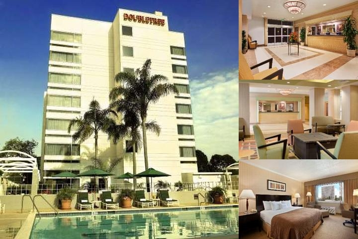 Doubletree by Hilton Lax El Segundo Hotel And Pool View