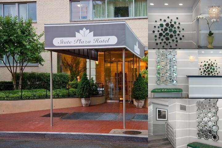 State Plaza Hotel photo collage