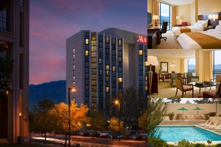 Albuquerque Marriott photo collage