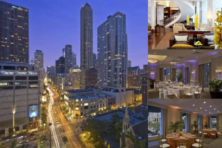 The Westin Michigan Avenue Chicago photo collage