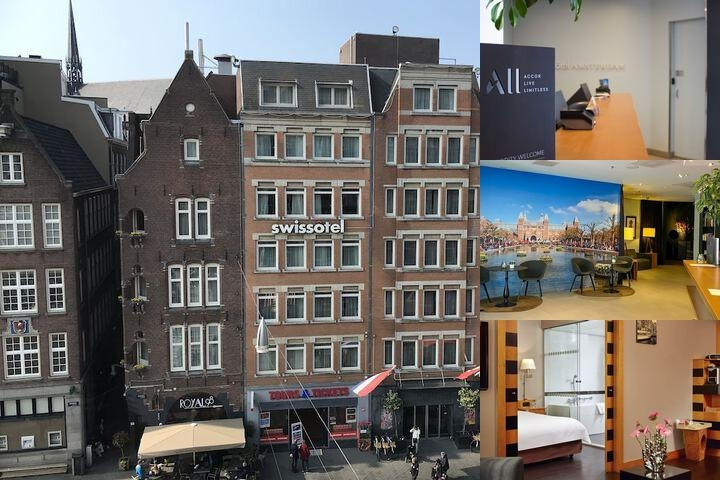 Swissôtel Amsterdam photo collage