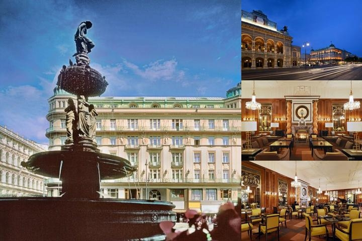 Grand Hotel Vienna photo collage