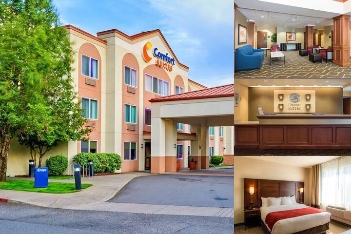 Comfort Suites Hotel Springfield Oregon photo collage