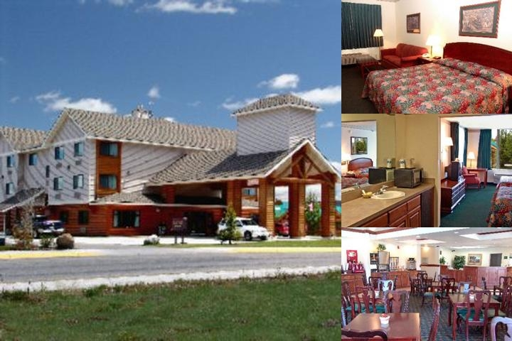Yellowstone Lodge photo collage