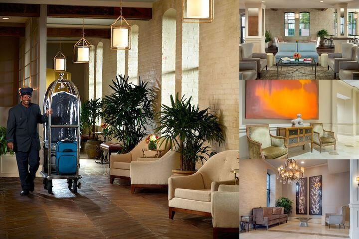 Omni Riverfront New Orleans photo collage