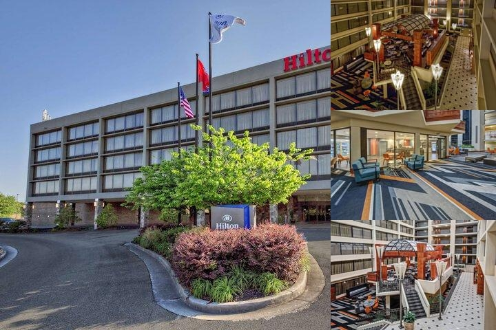 Hilton Knoxville Airport photo collage