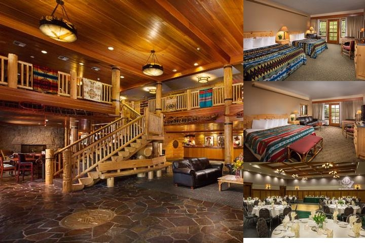 The Heathman Lodge photo collage