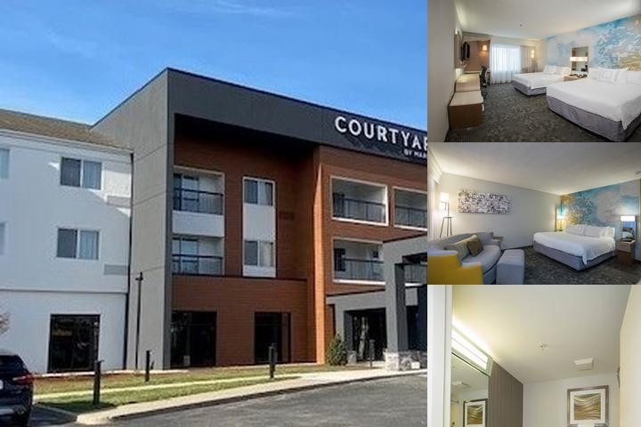 Raynham Courtyard by Marriott photo collage