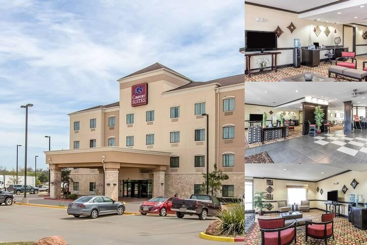 Comfort Suites Lawton photo collage