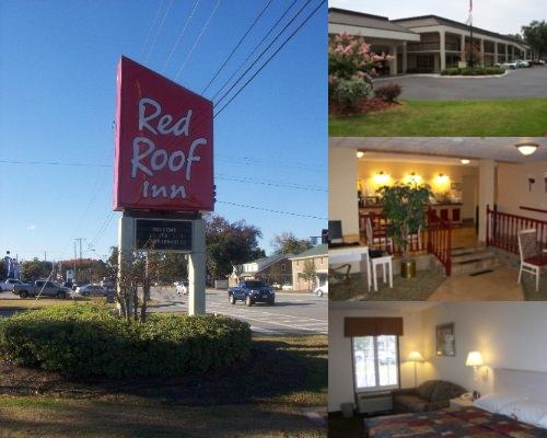 Amazing Red Roof Inn Savannah Midtown Photo Collage