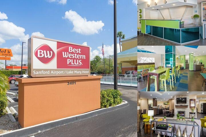 Best Western Plus Sanford Airport (Lake Mary Area) Patio & Bbq Area