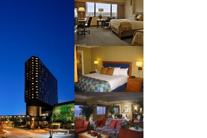 Hyatt Regency Louisville photo collage