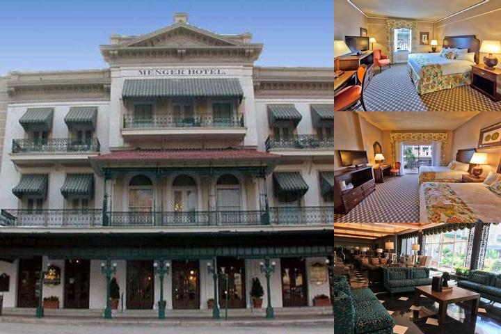 The Menger Hotel photo collage