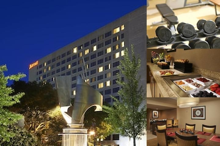 Columbia Marriott photo collage