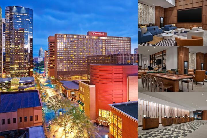 Sheraton Denver Downtown Hotel photo collage