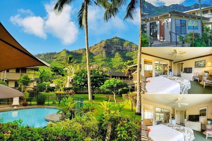 The Kauai Inn photo collage