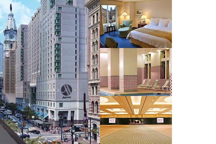 Philadelphia Marriott Downtown photo collage