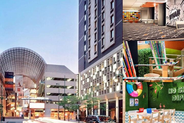 The Curtis a Doubletree by Hilton photo collage