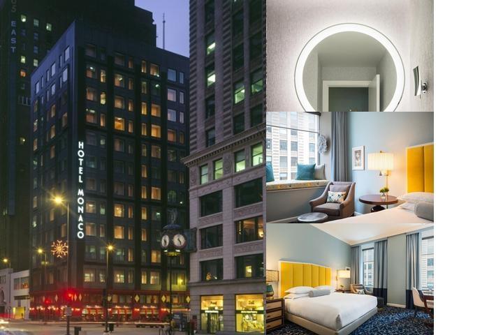 Hotel monaco chicago il 225 north wabash 60601 for Hotel monaco chicago