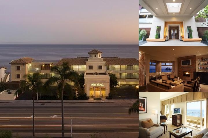 Malibu Beach Inn photo collage