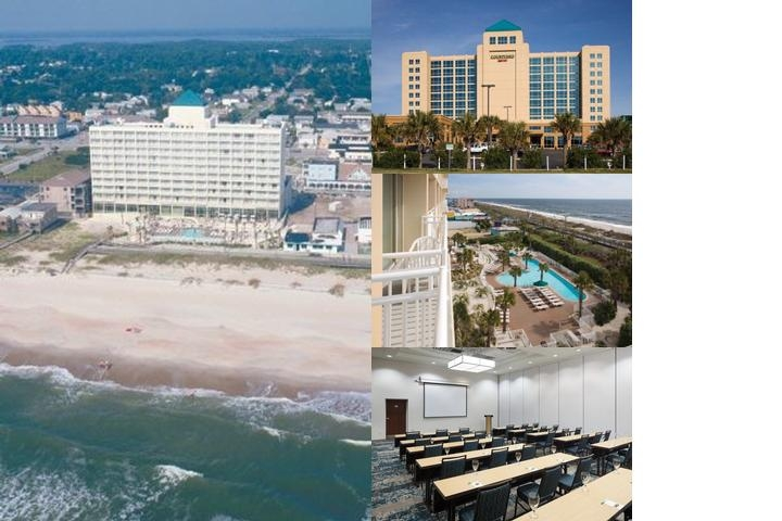 Courtyard Marriott Carolina Beach photo collage