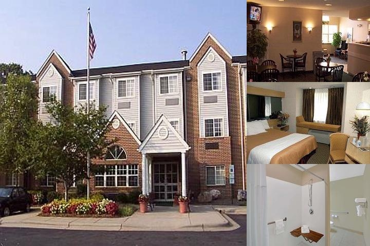 Microtel Inn Charlotte University Place photo collage