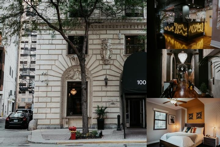 The Tremont Chicago Hotel at Magnificent Mile photo collage