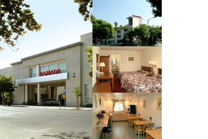Ramada Limited San Jose photo collage