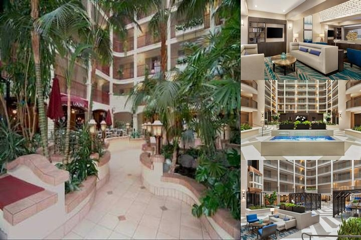 Embassy Suites Hotel Arcadia Pasadena photo collage