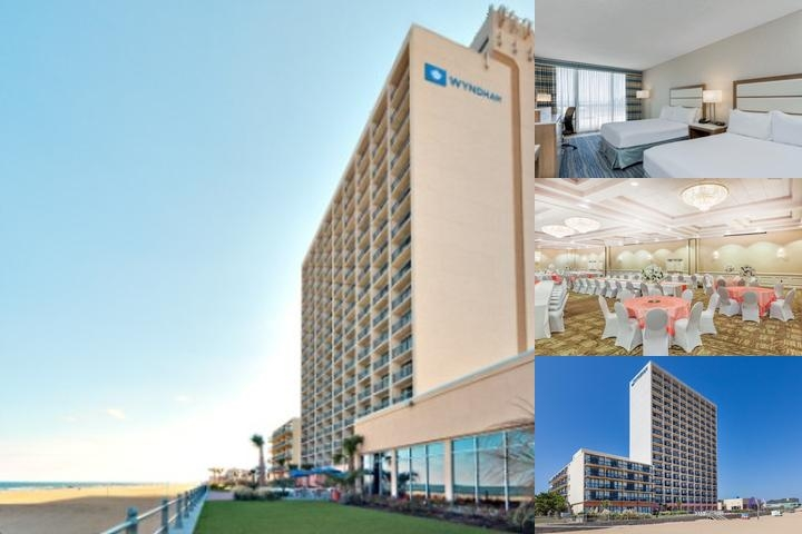 Wyndham Virginia Beach Oceanfront photo collage