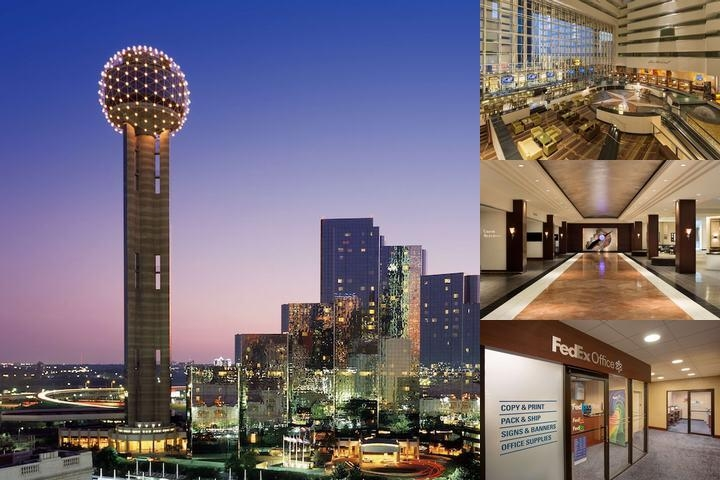 Hyatt Regency Dallas photo collage