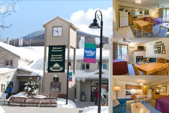 Smugglers Notch Resort photo collage