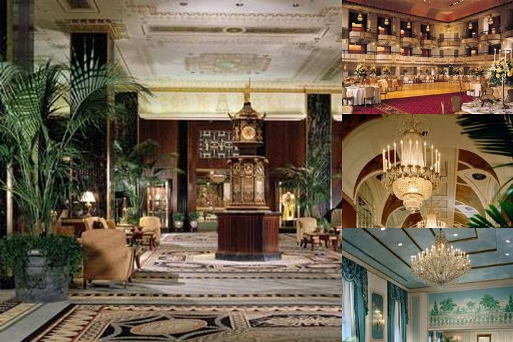 The Waldorf Astoria photo collage