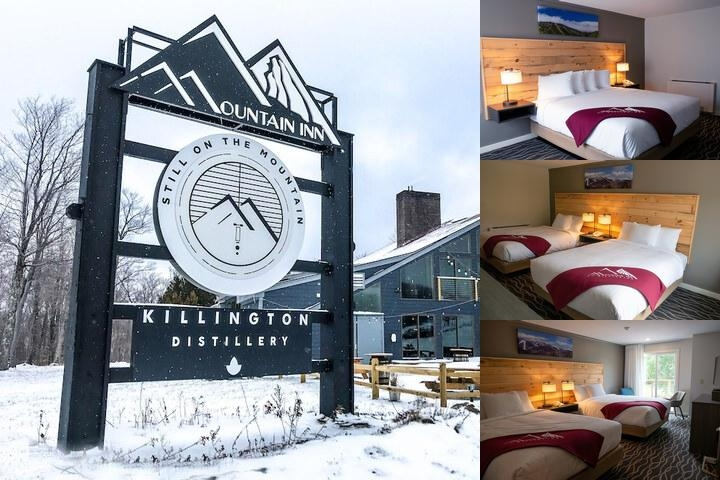 Mountain Inn at Killington photo collage