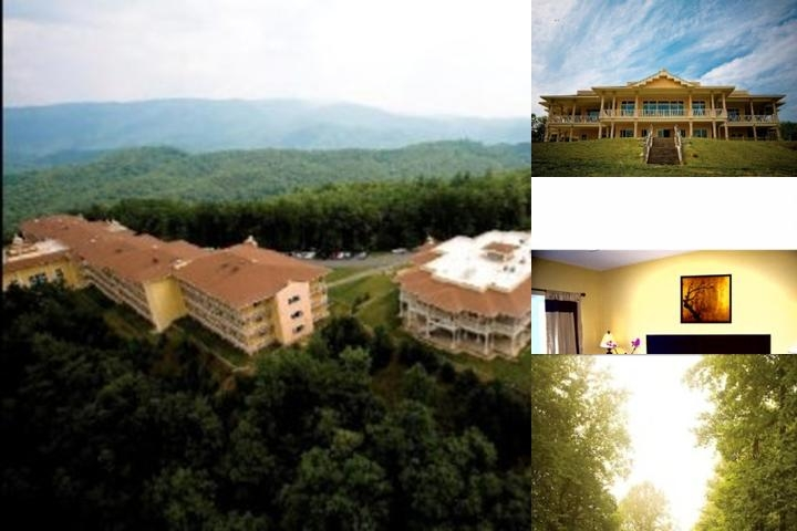 Whispering Hills Resort Birds Eye View Of The Ridge Hotel Offering Over 50 Miles Of Panoramic Mountain Views