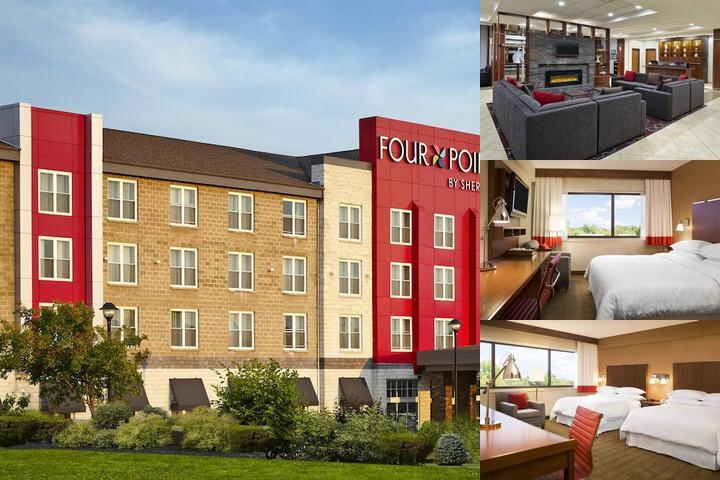 Four Points by Sheraton Moncton photo collage