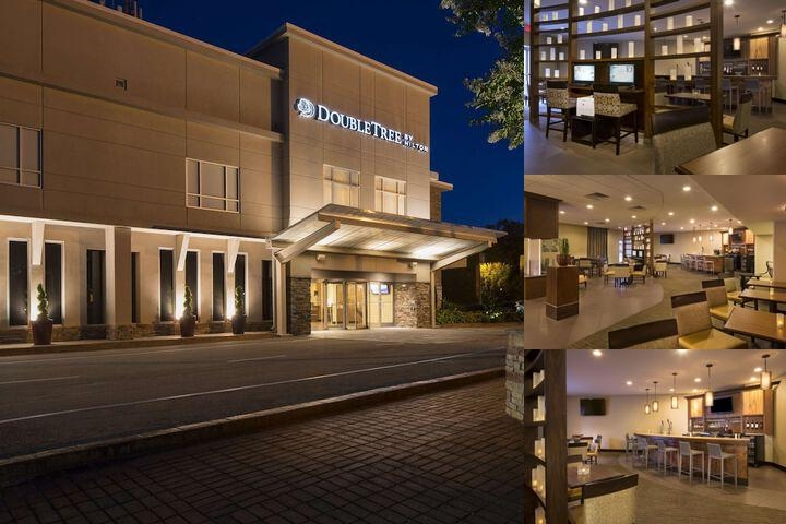 Doubletree by Hilton Raleigh Brownstone University photo collage