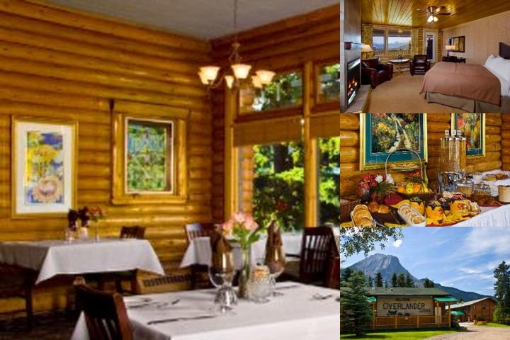 Overlander Mountain Lodge photo collage