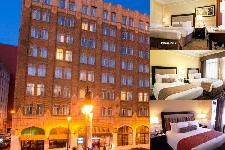 The Pickwick Hotel photo collage