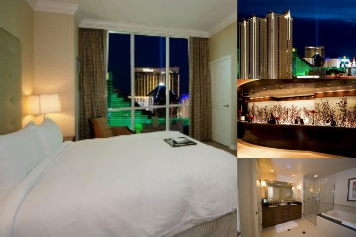 Las Vegas Suites at the Signature at MGM Grand photo collage