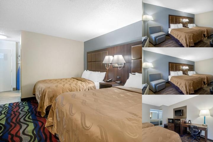 Clarion Inn photo collage