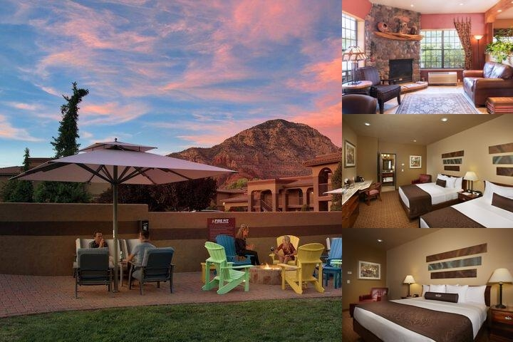 Sedona Real Inn & Suites photo collage