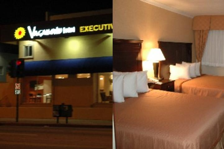 Vagabond Inn Hotel Executive photo collage
