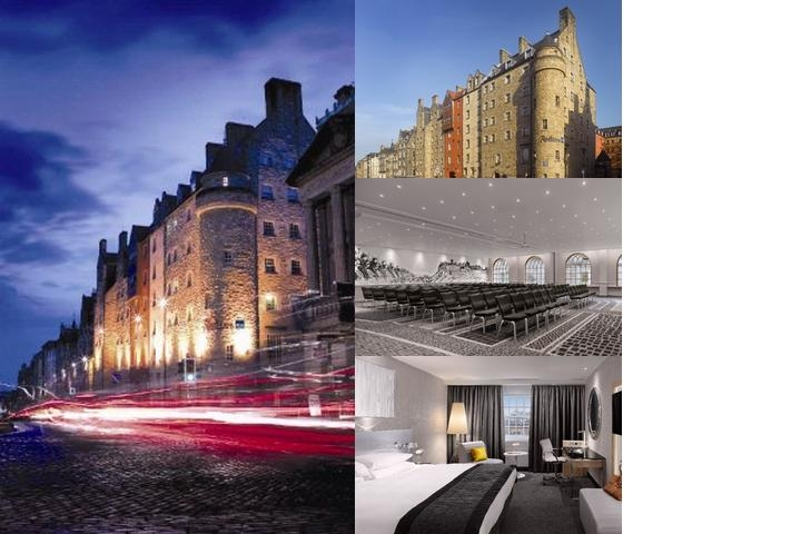 Radisson Blu Hotel Edinburgh City Center photo collage