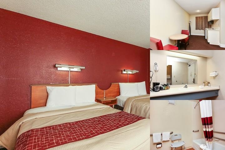 Beautiful Red Roof Inn Santa Ana Ca Photo Collage