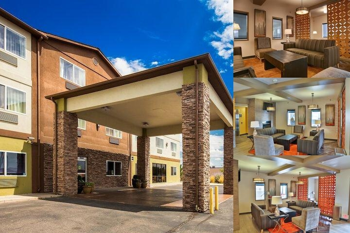 Best Western Plus The Four Corners Inn photo collage