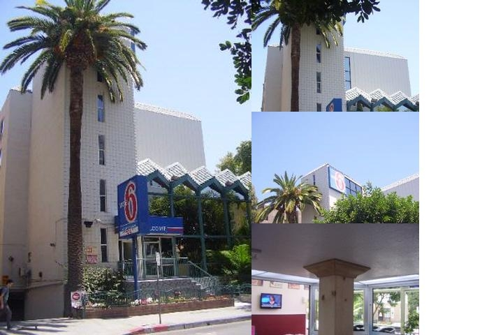 Motel 6 Hollywood photo collage